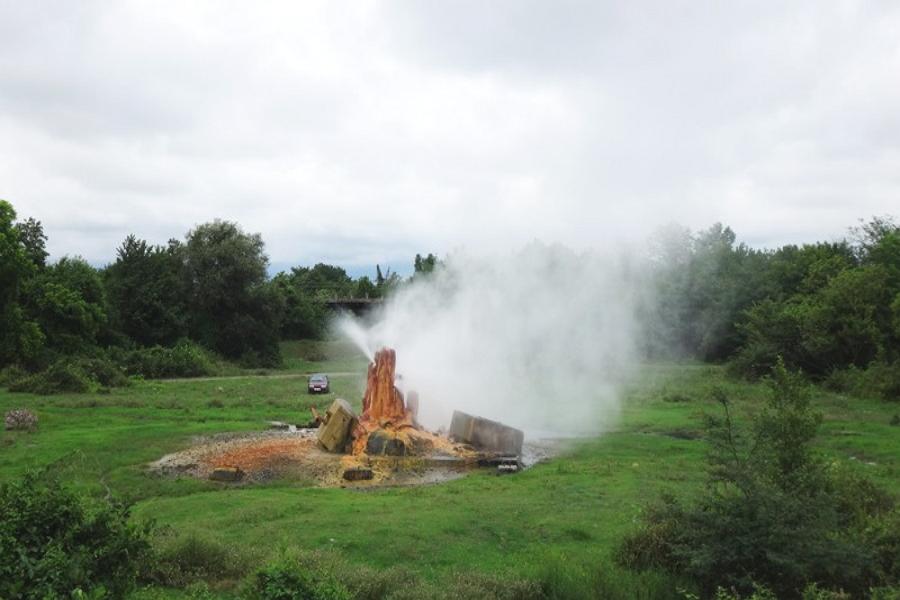 Термальный источник в Очамчирском районе